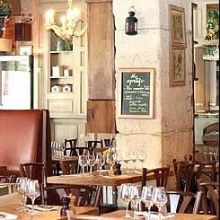 Restaurant C�t� Bergamote Paris 06