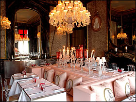 Restaurant Paris Cristal Room Baccarat