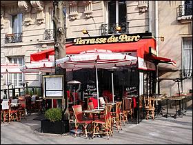 Restaurant la terrasse du parc paris paris 75 - Restaurant la terrasse paris ...