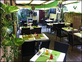 Restaurant cuisine inventive france province restos for Jardin gourmand bourges