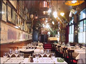 Restaurant roger la grenouille paris paris for Roger la grenouille paris