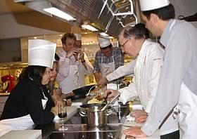 Académie Cinq Sens restaurant groupe Paris 8