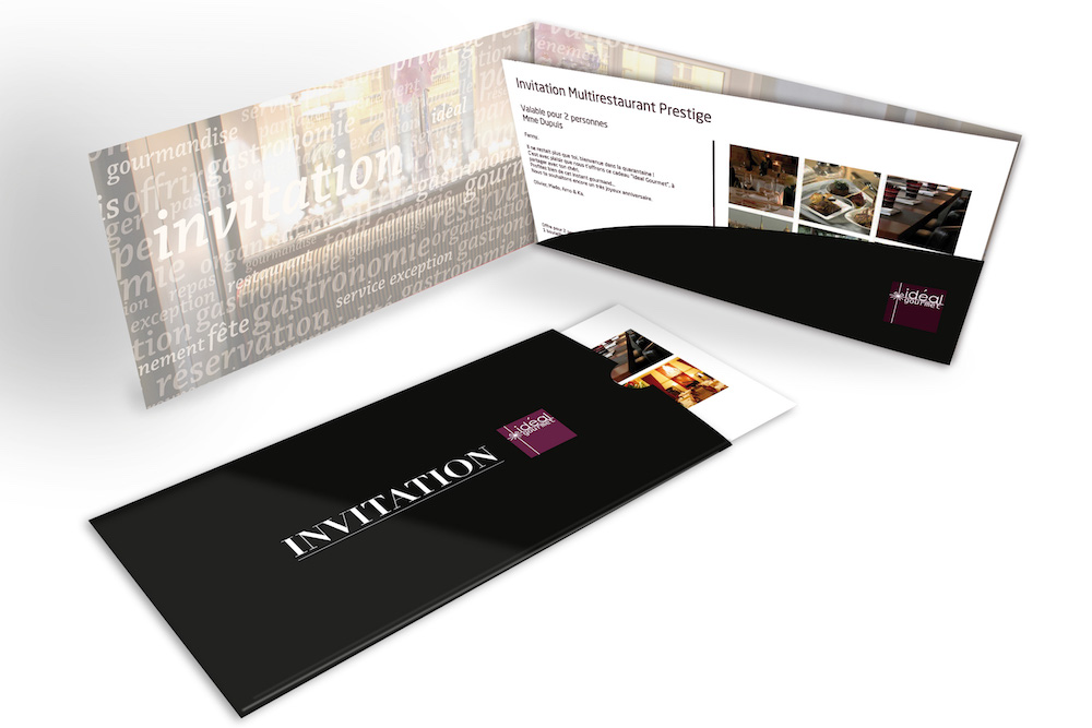 Cadeau invitation restaurant privilege