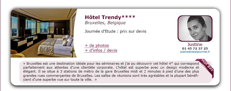 Hôtel Trendy****