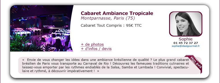 Cabaret Ambiance Tropicale