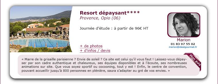 resort dépaysant****