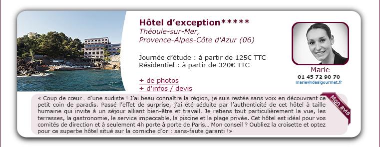 hôtel d'exception*****