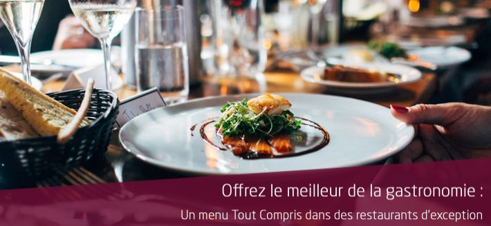 Coffret Restaurant Gastronomique Paris
