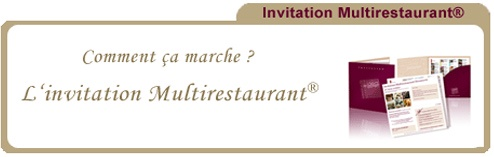 Invitation restaurant decouverte